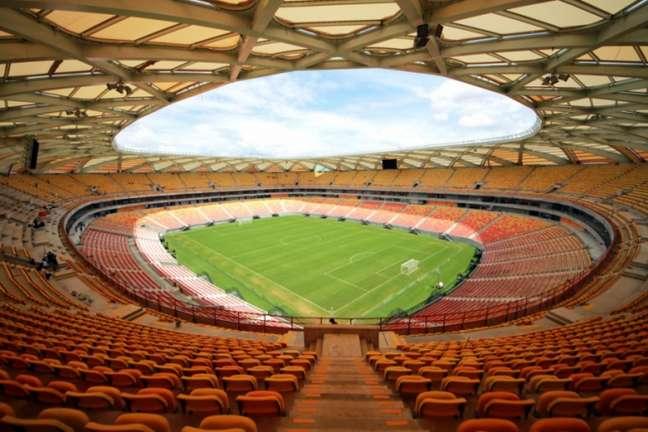 Estádio, que passa por reformas, poderá receber em torno de 13 mil torcedores (Foto: Portal da Copa)