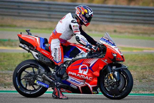Johann Zarco se afastou da briga pelo título nas últimas corridas