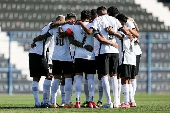 Equipe sub-23 do Corinthians venceu o Figueirense e ainda pode se classificar (Foto: Marco Galvão/Ag. Corinthians)