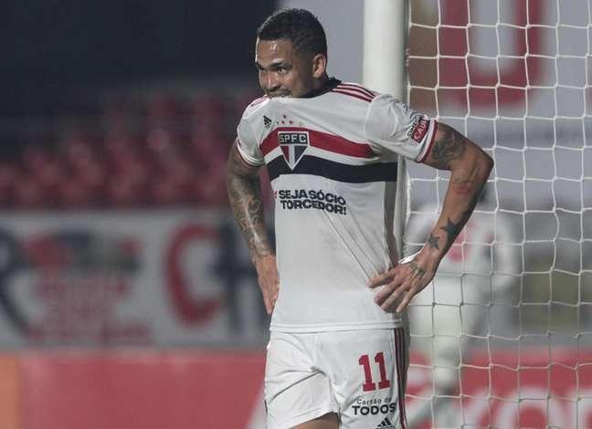 Luciano falou após a eliminação do São Paulo no Ceará (Foto: Rubens Chiri/saopaulofc.net)