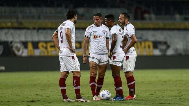 Fluminense perdeu para o Atlético-MG e foi eliminado da Copa do Brasil (Foto: Lucas Merçon/Fluminense FC)