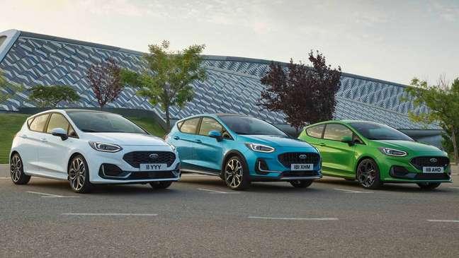Ford Fiesta: novo visual na Europa.