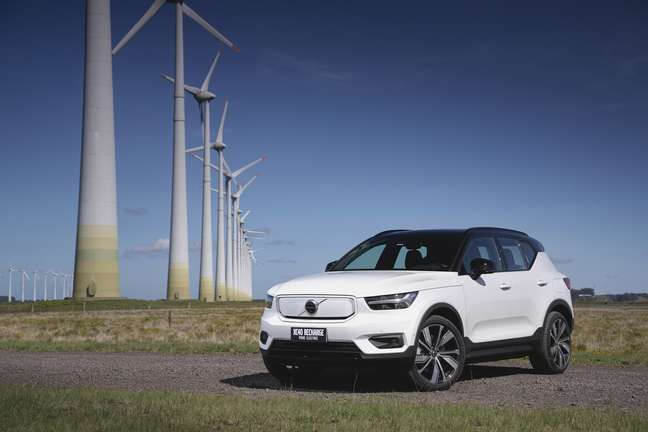 Volvo XC40 Recharge Pure Electric.