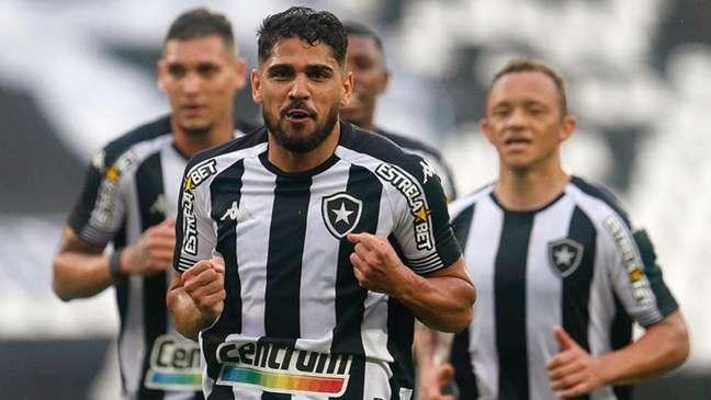 Daniel Borges em ação pelo Botafogo (Foto: Vítor Silva / Botafogo)