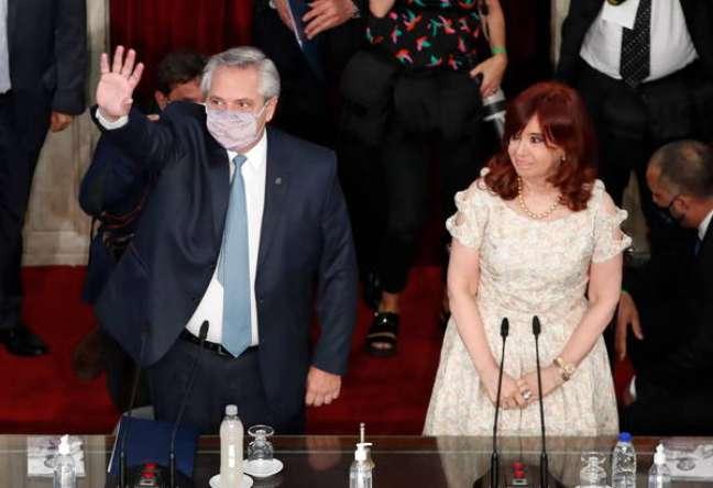 Alberto Fernández foi eleito com apoio de Cristina Kirchner, mas hoje eles estão à beira de rompimento