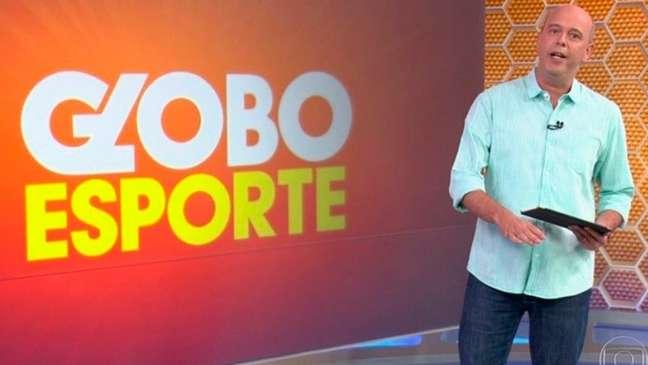 Alex Escobar agradeceu a vacinação pelas redes sociais (Foto: Reprodução / TV Globo)