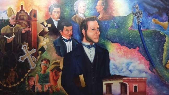 """Hondurenho Francisco Morazán ficou registrado na história como o """"rosto"""" da República Federal da América Central"""