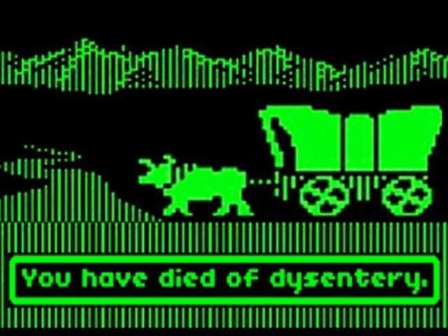 The Oregon Trail mostrava a dificuldade dos colonos dos EUA no processo de migração