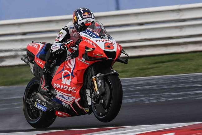 Johann Zarco comandou trinca da Ducati