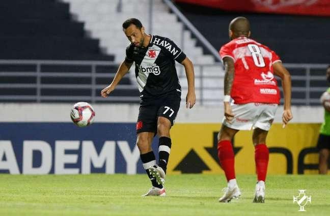 Nene reestreou pelo Vasco nesta quinta-feira, contra o CRB (Rafael Ribeiro/Vasco)