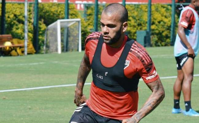 Daniel Alves rescindiu seu contrato com o São Paulo (Foto: Erico Leonan / saopaulofc)