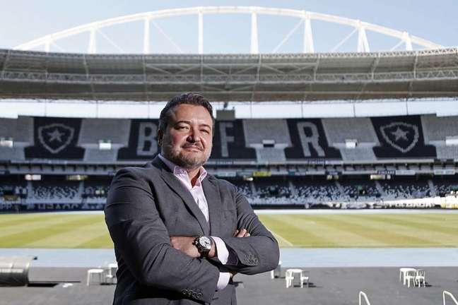 Jorge Braga é o CEO do Botafogo (Foto: Vítor Silva/Botafogo)