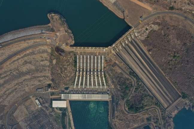 Imagem da hidrelétrica de Furnas em São José da Barra 7/09/2021 REUTERS/Washington Alves
