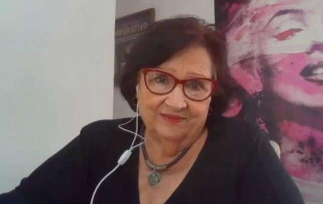 Dea Lúcia em entrevista para Ana Maria Braga, no 'Mais Você'