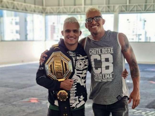 Daniel Willycat, novo lutador do UFC, é parceiro de treinos de Charles do Bronx (Foto: Divulgação)