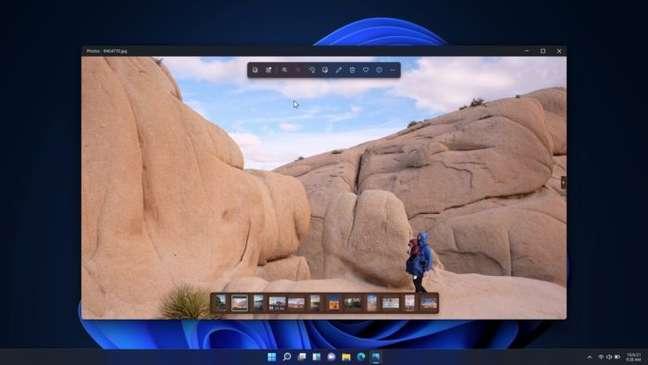Aplicativo Fotos do Windows 11