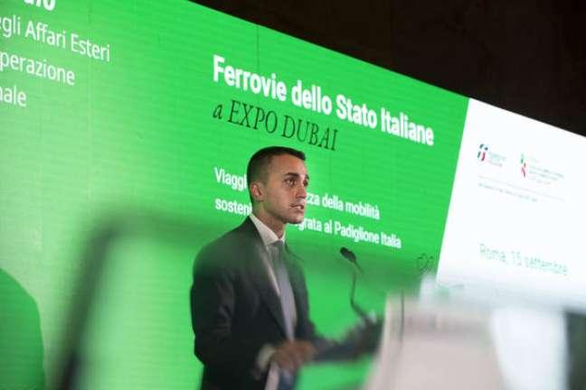 O ministro das Relações Exteriores da Itália, Luigi Di Maio