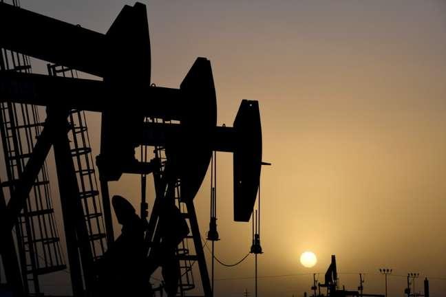 Pompa petrolifera a Midland, Texas, USA, 11 febbraio 2019. Foto scattata l'11 febbraio 2019. REUTERS/Nick Oxford