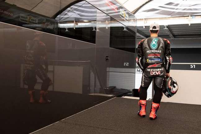 Andrea Dovizioso passou apenas alguns meses afastado da MotoGP