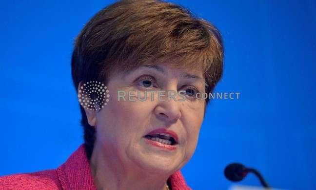 A diretora-gerente do Fundo Monetário Internacional (FMI), Kristalina Georgieva, em Washington, EUA, 17 de outubro de 2019. REUTERS/Mike Theiler