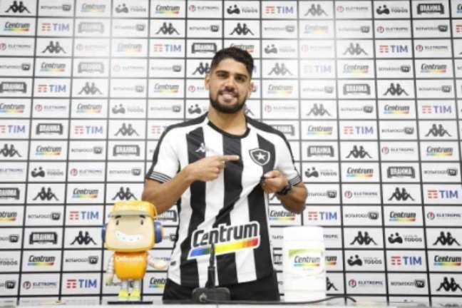 Daniel chegou ao Botafogo no início da temporada (Foto: Vítor Silva)