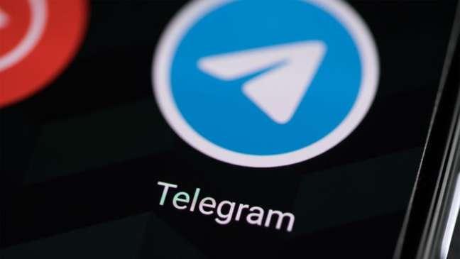 App do telegram