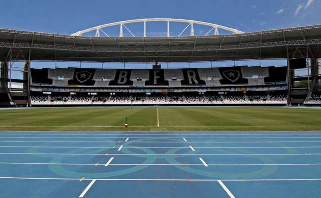 Estádio Nilton Santos, estádio do Botafogo (Foto: Vitor Silva / SS Press / BFR)