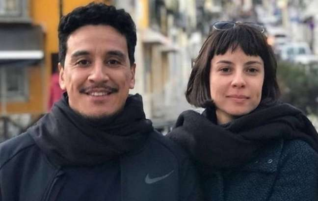 Andréia Horta e Marco Gonçalves foram casados por dois anos