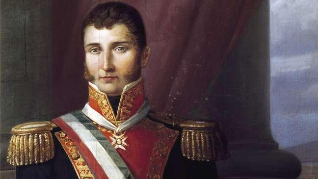 Agustín De Iturbide comandou o Primeiro Império Mexicano