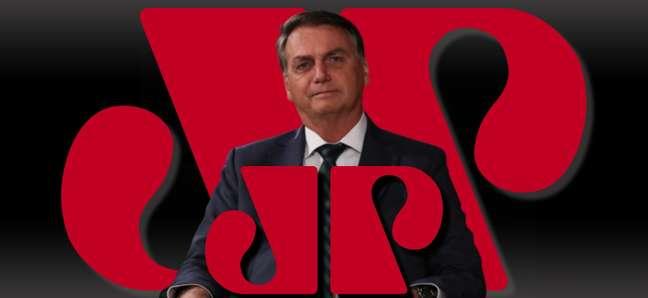 Bolsonaro disse que a Jovem Pan é sua principal fonte de informações