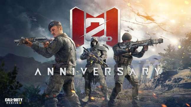 Call of Duty: Mobile comemora 2 anos