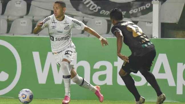 O Santos venceu o Ceará por 3 a 1 no primeiro turno do Brasileirão (Foto: Divulgação/Santos)