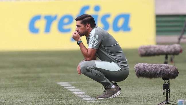 Abel Ferreira assumiu erros após a vitória do Verdão fora de casa (Foto: César Greco)