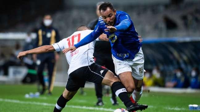 No primeiro turno, o Cruzeiro venceu o Vasco por 2 a 1 (Bruno Haddad/Cruzeiro)