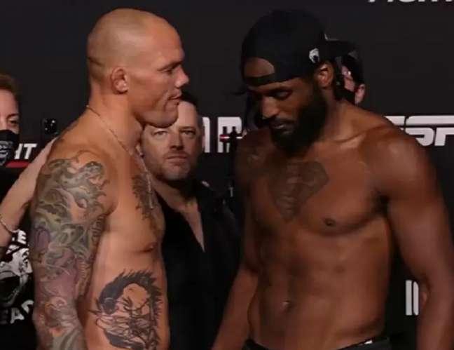 Anthony Smith e Ryan Spann vão se enfrentar na luta principal do UFC Vegas 37 (Foto: Reprodução/YouTube/UFC)