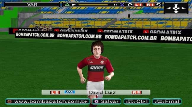 Versão do David Luiz no Bomba Patch (Foto: Divulgação)