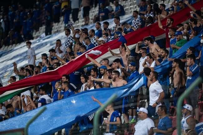 Será o segundo jogo do Cruzeiro em BH depois da liberação dos jogos pela prefeitura-(Bruno Haddad/Cruzeiro)