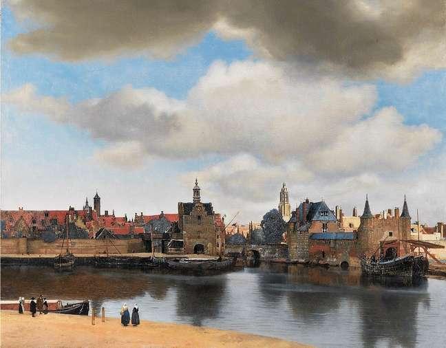 Quadro 'Vista de Delft'