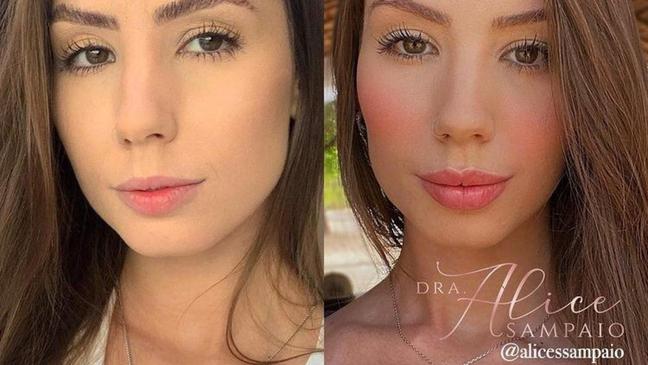 Maria Lina Deggan. Reprodução/Instagram: @alicessampaio