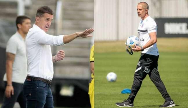 Vagner Mancini foi o último técnico do Corinthians antes de Sylvinho chegar (Foto: Montagem/Ag. Corinthians)