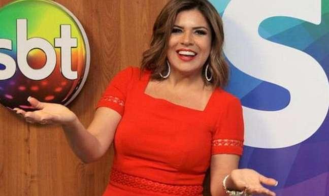 Mara Maravilha estreou no SBT em 1984 e, desde então, teve programas próprios e participou de atrações com outros apresentadores