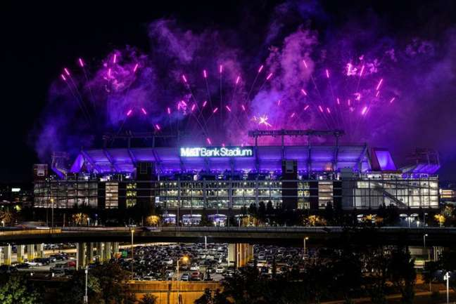 M&T Bank Stadium recebe o duelo entre Ravens e Chiefs nesta noite de domingo (19)