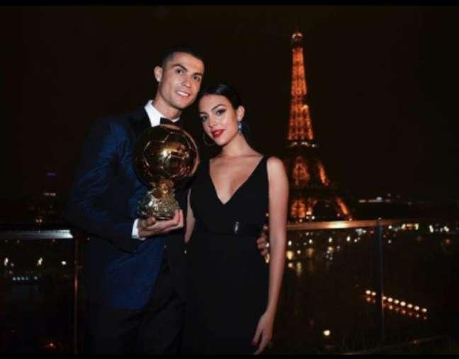 Cristiano Ronaldo e Georgina Rodríguez (Reprodução/ Instagram)