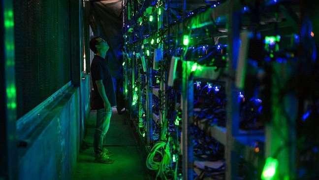 A China era o centro mundial de fazendas de bitcoins
