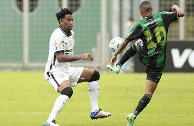 No primeiro turno, o Timão venceu o América, em BH, por 1 a 0 (Foto: Rodrigo Coca/Agência Corinthians)