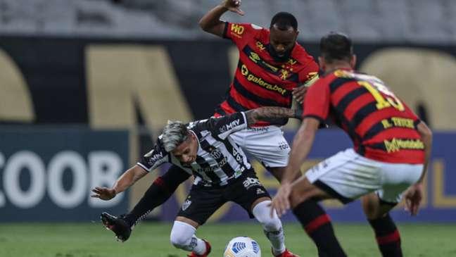 Sport foi superado pelo Atlético-MG (Pedro Souza / Atletico MG)
