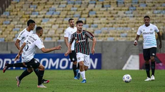Martinelli: volta à equipe já como titular (Foto: Lucas Merçon / Fluminense FC)