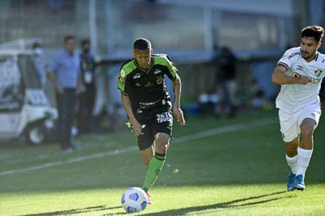 Ademir encerrará o ano no América-MG, mas em 2022 vai jogar pelo Atlético (Mourão Panda/América-MG)