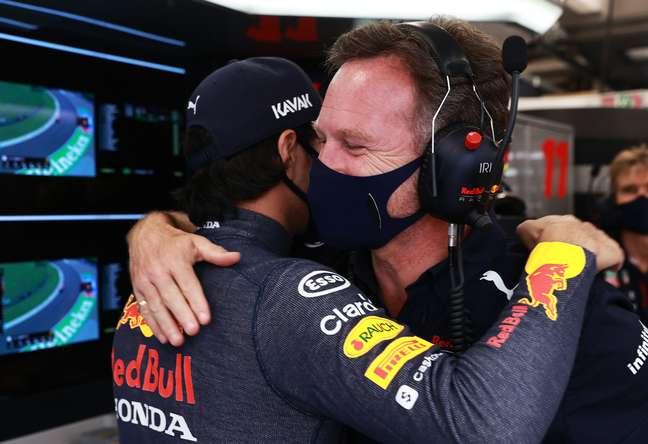 Sergio Pérez tem o respaldo de Christian Horner para seguir na Red Bull