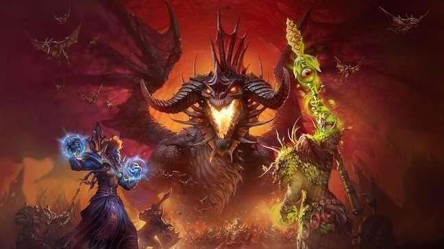 World of Warcraft é o MMORPG da Blizzard